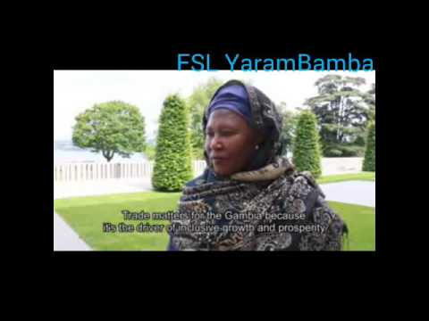Trade matters for The Gambia says the Gambian Vice President, Fatoumata Tambajang
