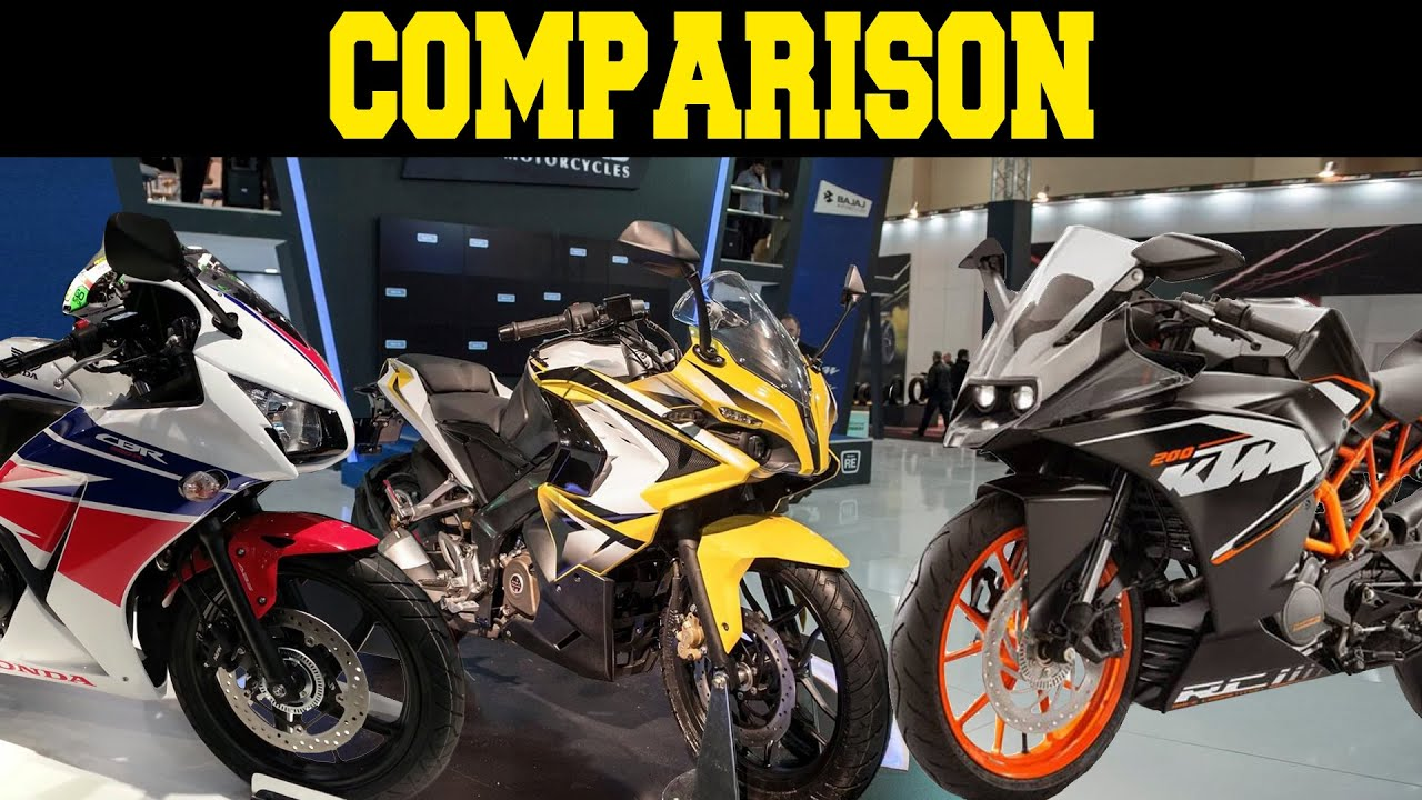 Bajaj pulsar rs200 vs ktm rc200 vs honda cbr250r comparison youtube - Honda Cbr250r Vs Ktm Rc200 Vsbajaj Pulsar Rs200 Comparison