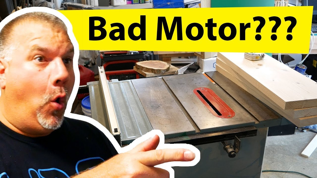 How To Replace A Delta Table Saw Motor