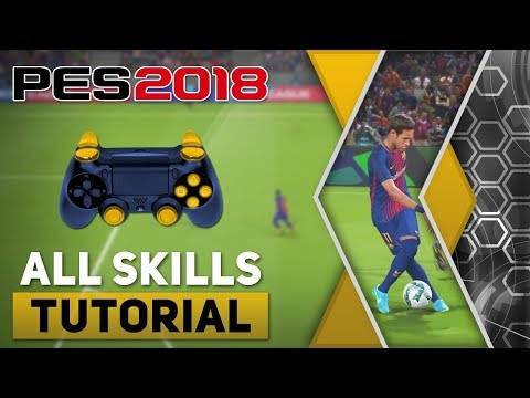 PES 2018 All Tricks and Skills Tutorial [PS4, PS3]