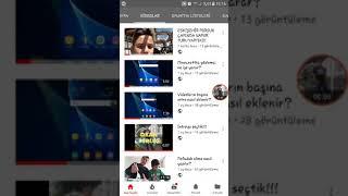 Videoları TREND VİDEOLAR LİSTESİNDE #1 NUMARA yapma!!!