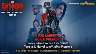 Watch the Red Carpet World Premiere of Marvel's