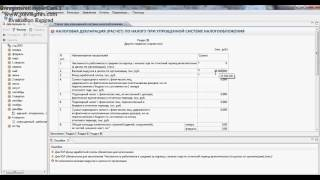 Как заполнить декларацию в системе электронного декларирования в УСН. Упрощенная система РБ.
