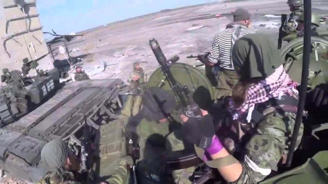 Как погиб Ялта в бою за аэропорт Донецка...