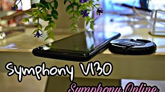 Symphony V130 Review & Unboxing ,Full Vision (New Model 2018)