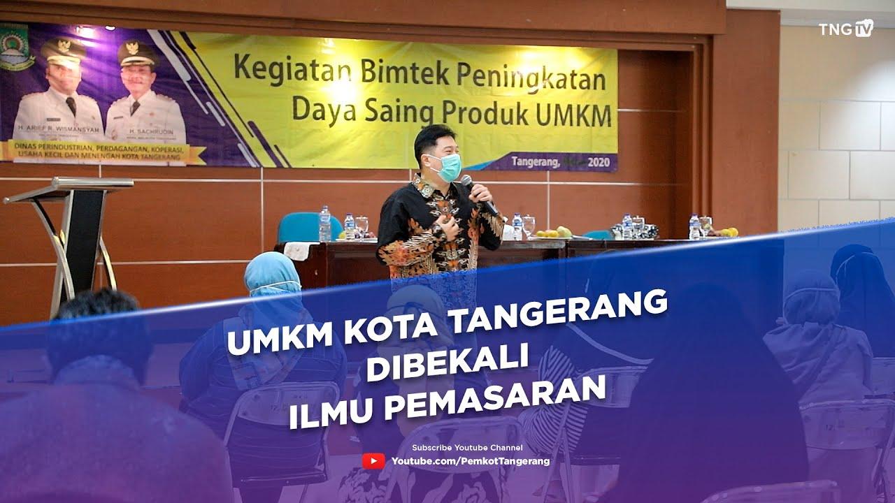 UMKM Kota Tangerang dibekali Ilmu Pemasaran [Tangerang TV]