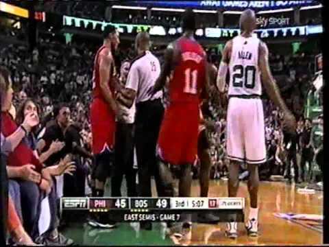 NBA Playoffs 2012 ECSF Boston - Philadelphia G7 (2T) Tranquillo Buffa