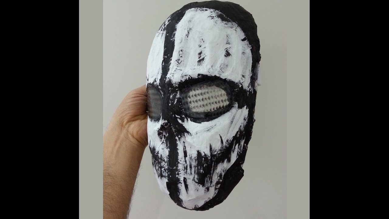 Ghost Maske Yapimi Call Of Duty Youtube