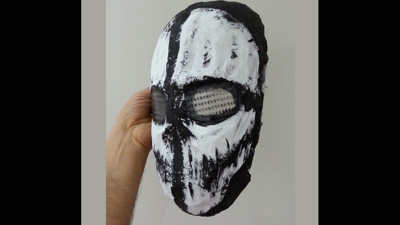 Ghost Maske Yapimi Call Of Duty Youtube