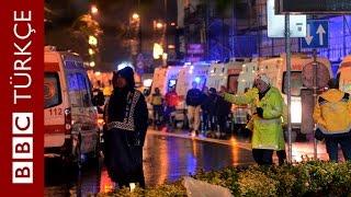 İstanbul Reina'daki saldırı anı ve sonrası - BBC TÜRKÇE