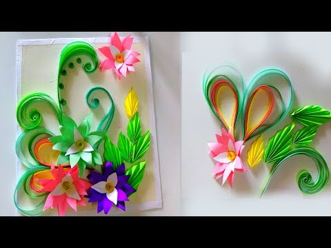 Easy and simple colour paper flowers tagged videos   Midnight News