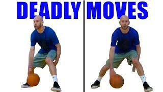 10 DEADLY Reverse Between Legs Dribbles! Basketball Moves For Beginners: Break Ankles!