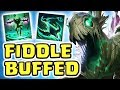 IS NEW BUFFED FIDDLESTICKS THE META?! THE FASTEST JUNGLER   GENIUS FARMING (FULL AP FID JUNGLE)