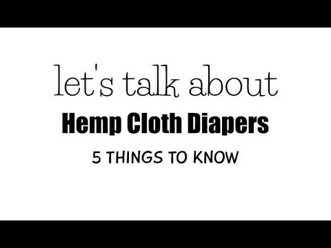 All About Hemp Inserts for Cloth Diapers   Textile Tuesdays