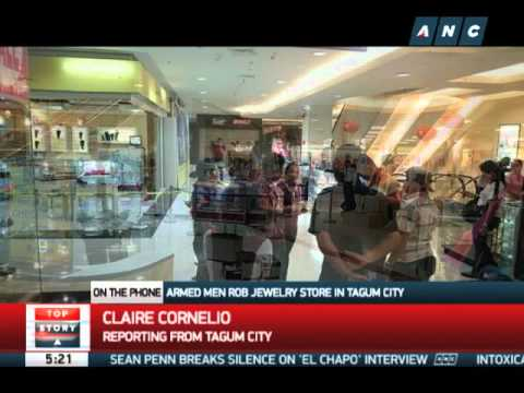Armed men rob jewelry store in Tagum City