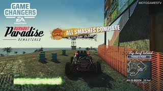 Burnout Paradise Remastered - All 75 Big Surf Island Smashes Locations Guide
