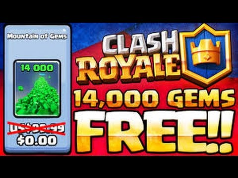 Clash Royale Hack 2017-Free Gems for IOS and Android - YouTube