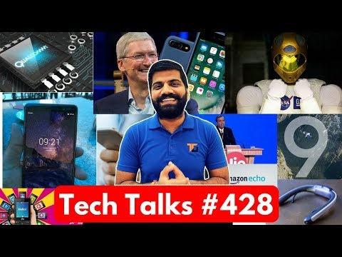 Tech Talks #428 - Jio Football Offer, S9 Camera, Snapdragon 855, NASA Robonaut, Whatsapp Payments