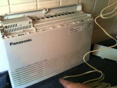 Panasonic PABX TA308 simplified DIY installation