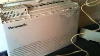 Panasonic PABX TA308 simplified DIY installation thumbnail