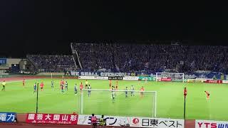 明らかにおかしい判定からAT モンテディオ山形 vs 東京ヴェルディ 2018 ...