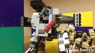 Lego war robots Lancelot