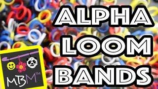 NEW Alpha Loom Bands from Rainbow Loom!