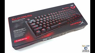 hyperX Alloy FPS Pro Unboxing and Review
