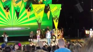 Start the Party + We Rock - Camp Rock 2 Cast - Live - 8/7/10