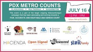 PDX Metro Counts