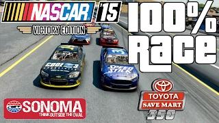 SONOMA 100% RACE - NASCAR
