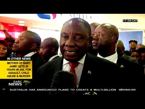 Pres. Ramaphosa reacts to Gordhan's interactions with the Guptas