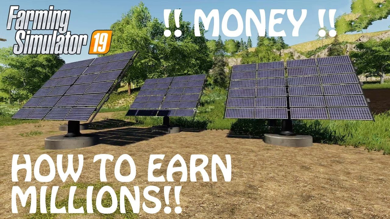 Easy Money Method Hack In Farming Simulator 2019 How To Earn Money In Fs19 Ps4 Xbox One Youtube
