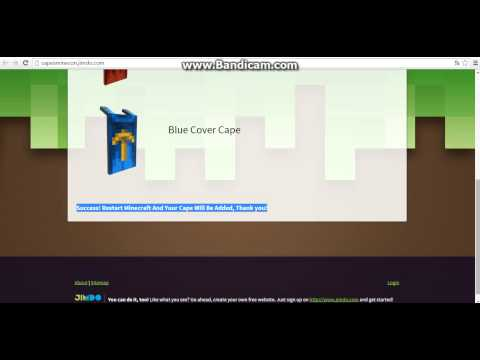 how to make a cape in minecraft no mods