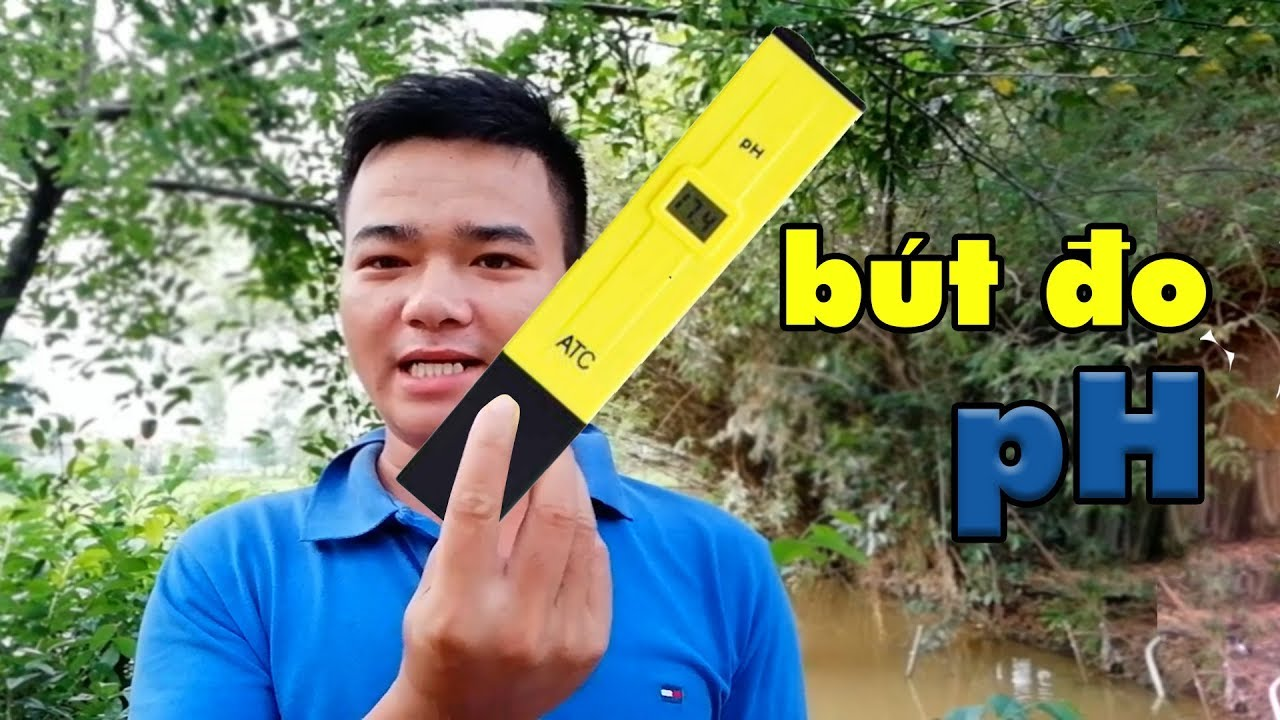 Thử cây bút do PH nước xem như thế nào?
