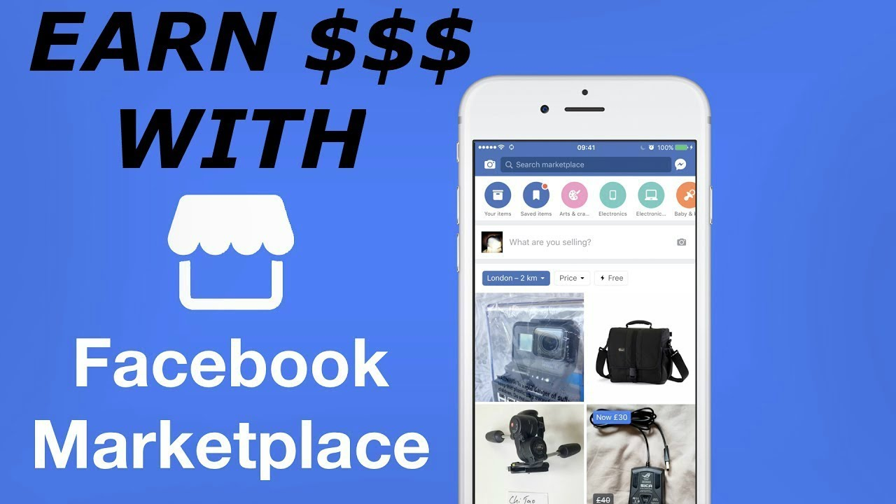 how to make money with facebook marketplace easy and fast