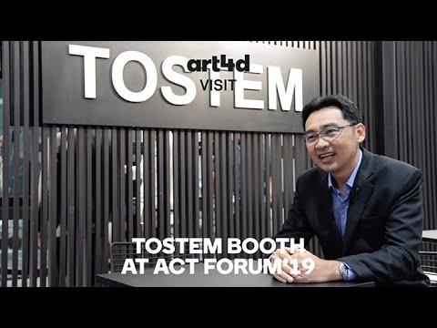 art4d VISIT : TOSTEM BOOTH AT ACT FORUM'19