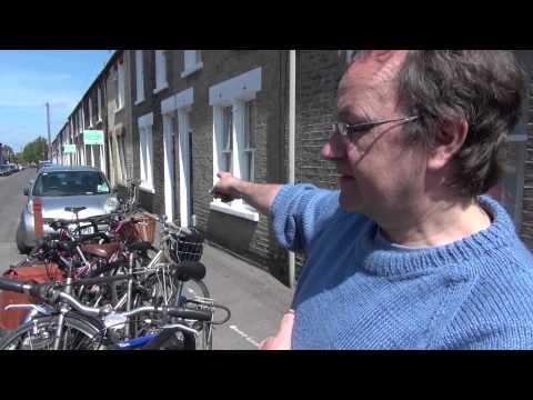 Cambridge, UK's First Residential Bike Corral/Park Swap