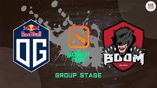 [DOTA2] BOOM.ID VS OG (BO3) - Bucharest Minor Group B day 2