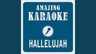 Hallelujah (Karaoke Version) (Originally Performed By Leonard Cohen)