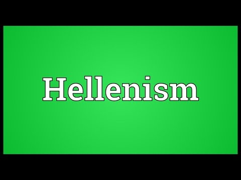 Hellenism Meaning