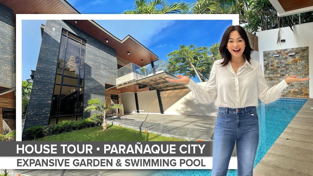 House Tour 54 • Touring a  ₱35 Million Astonishing Brand New House with Swimming Pool • STEAL PRICE!