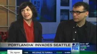 Kaci Interviews Fred Armisen and Carrie Brownstein of Portlandia