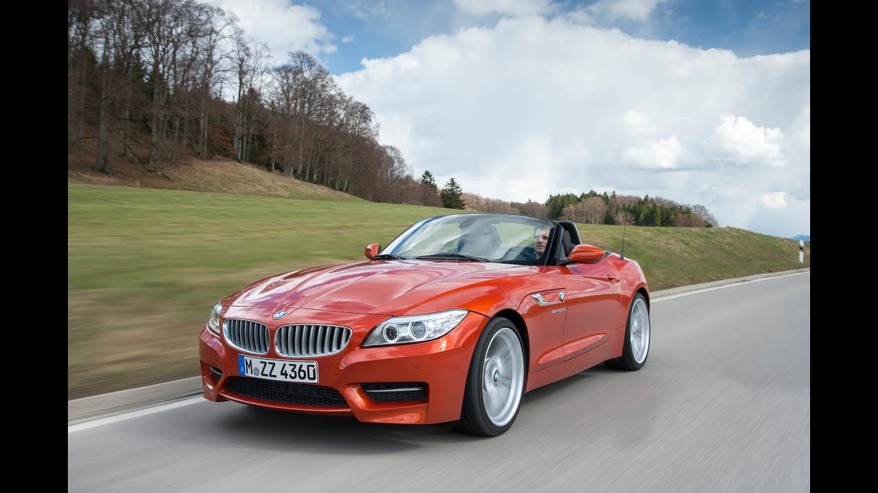 2014 Bmw Z4 Lci World Premiere Youtube
