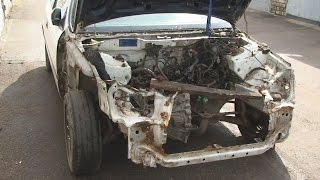 Жөндеу морды кейін апат Honda Civic #1
