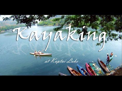 Kayaking adventure at Karnaphuli River    Rangamati Bangladesh   কায়াকিং কাপ্তাই  লেক