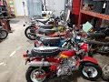 Trail Buddy Inc. Overflowing with CT70 and Z50 classic Honda Mini Bikes