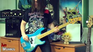 Iron Maiden Face In The Sand Bass Cover