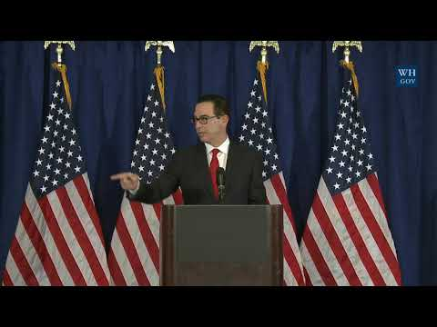 Press Briefing with Secretary of the Treasury Steven Mnuchin