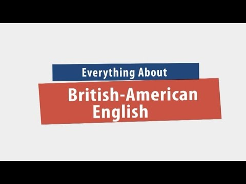 Everything About British-American English ภาษาอังกฤษ ม.1-6